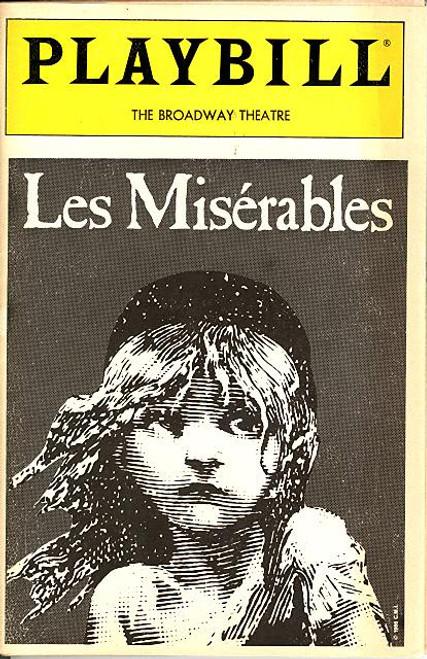 Les Miserables (Mar 1989) Tim Shew, Herndon Lackey, Maureen Moore, Tracy Shayne Broadway Theatre