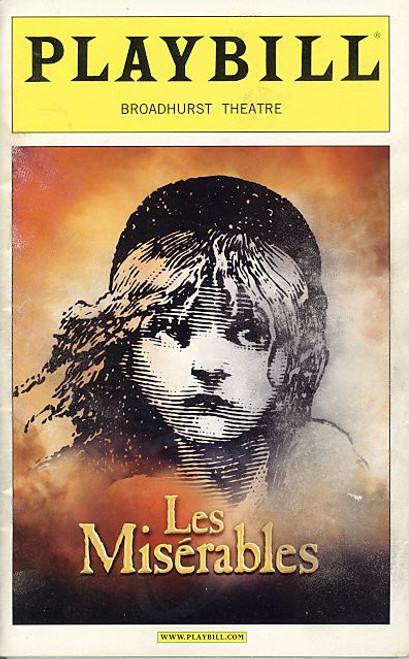 Les Miserables (Nov 2006) Alexander Gemignani, Norm Lewis, Daphne Rubin-Vega, Celia Keenan-Bolger Broadhurst Theatre