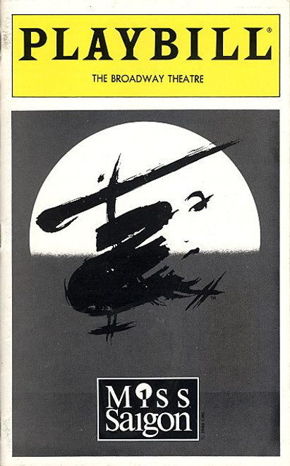 Miss Saigon (March 1999) Luoyong Wang, Lea Salonga, Franne Calma, Will Chase - Broadway Theatre