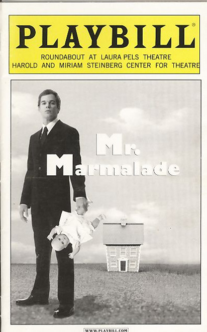 Mr Marmalade (Nov 2005) Michael C Hall, David Costabile, Mamie Gummer - Laura Pels Theatre