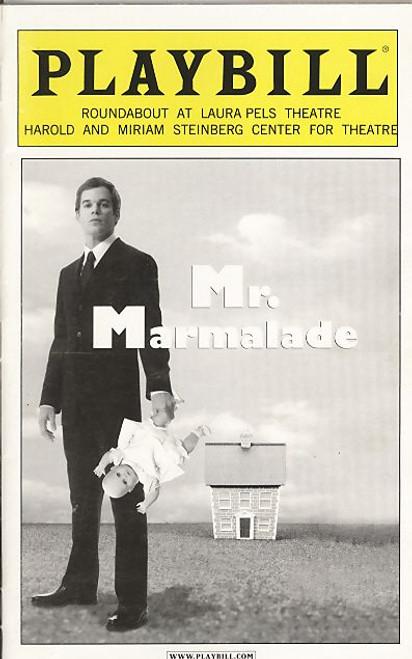 Mr Marmalade (Nov 2005) Michael C Hall, David Costabile, Mamie Gummer - Laura Pels Theatre