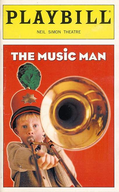 The Music Man (May 2000) Craig Bierko, Rebecca Luker,  Max Casella, Paul Benedict - Neil Simon Theatre