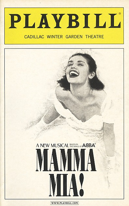 Mamma Mia (Jan 2006) Lauren Mufson, Carey Anderson, Judy McLane - Winter Garden Theatre