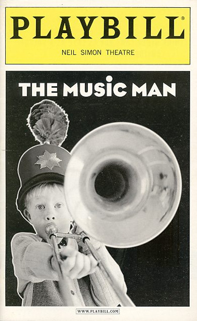 The Music Man (Jun 2001) Eric McCormack, Rebecca Luker, Joel Blum, Kenneth Kimmins Neil Simon Theatre