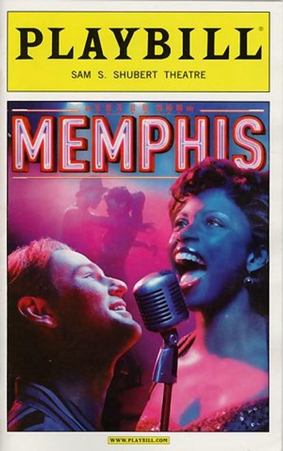 Memphis (Sept 2009) Chad Kimball, Montego Glover, Derrick Baskin, J Bernard Calloway Sam S Shubert Theatre