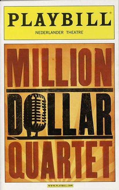 Million Dollar Quartet (Mar 2010) Robert Britton Lyons, Lance Guest, Levi Kreis Nederlander Theatre