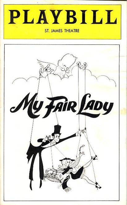 My Fair Lady (Oct 1976) Ian Richardson, Christine Andreas, George Rose St James Theatre