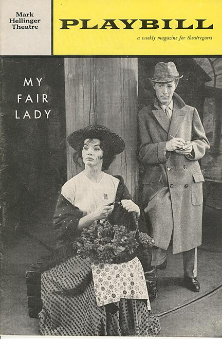 My Fair Lady (Jul 1961) Michael Allison, Margot Moser, Ronald Radd, Melville Cooper Mark Hellinger Theatre