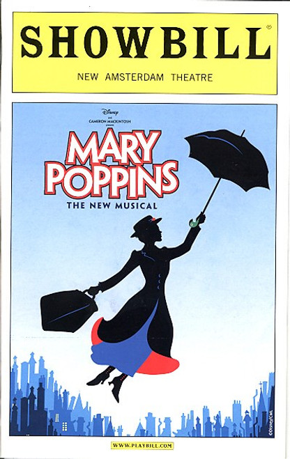 Mary Poppins (Nov 2006) OBC  Ashley Brown, Gavin Lee, Daniel Jenkins, Rebecca Luker New Amsterdam Theatre