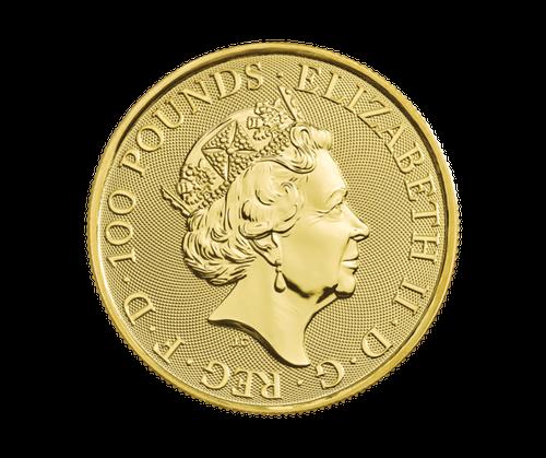 1oz UK Gold Britannia - 2020