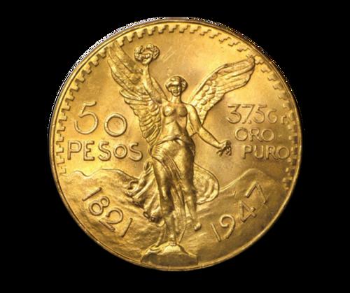 1.2oz Gold Mexican 50 Pesos