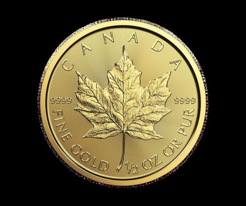 1/2oz Maple Leaf Gold Coin (2020)