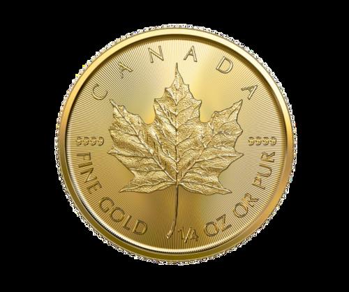 1/4oz Maple Leaf Gold Coin (2020)