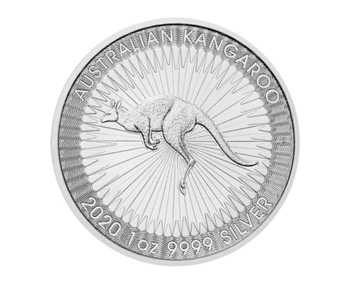 1oz Kangaroo Silver Coin (2020)