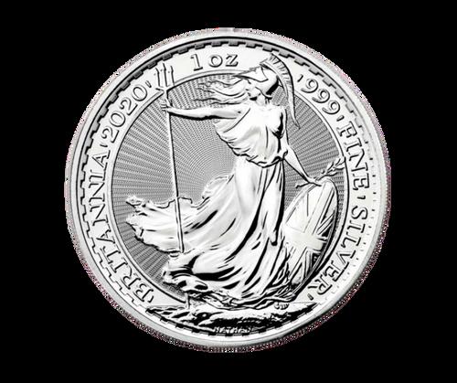 1oz Britannia Silver Coin (2020)