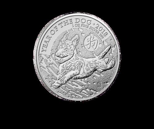 1oz Silver Lunar Year of the Dog