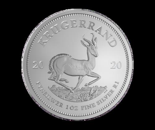 1 oz Krugerrand Silver Coin