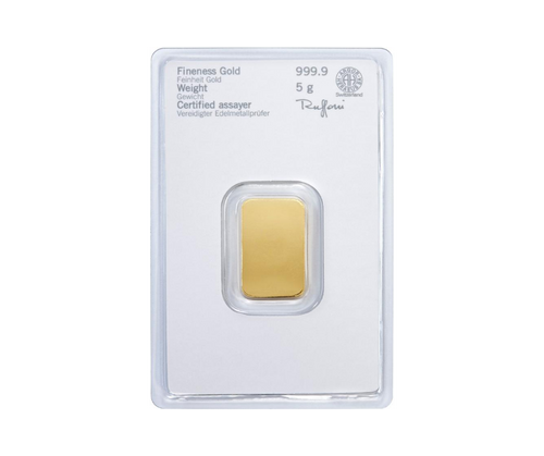 5g Gold Bar | Heraeus