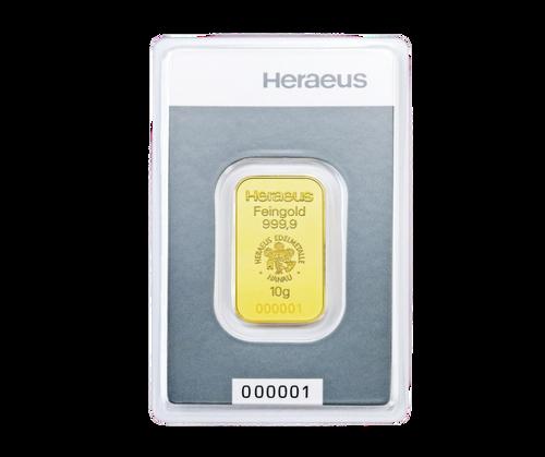 10g Gold Bar | Heraeus