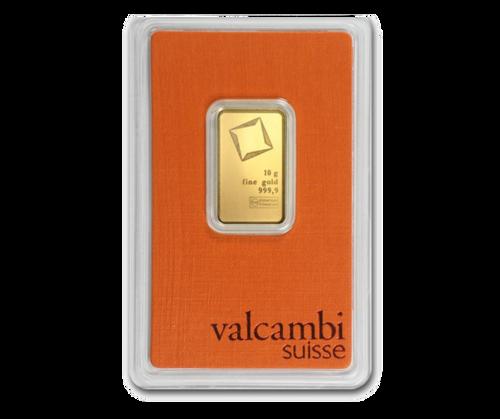 10g Gold Bar   Valcambi