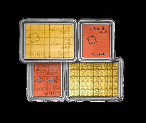 50 x 1g CombiBar® | Gold | Valcambi