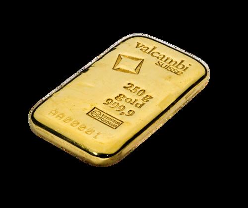 250g Gold Bar   Valcambi