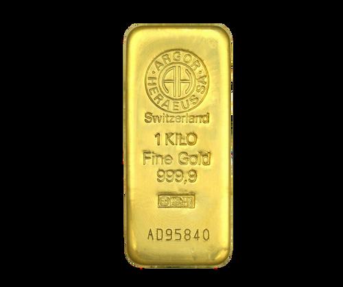 1 Kilo Gold Bar   Heraeus