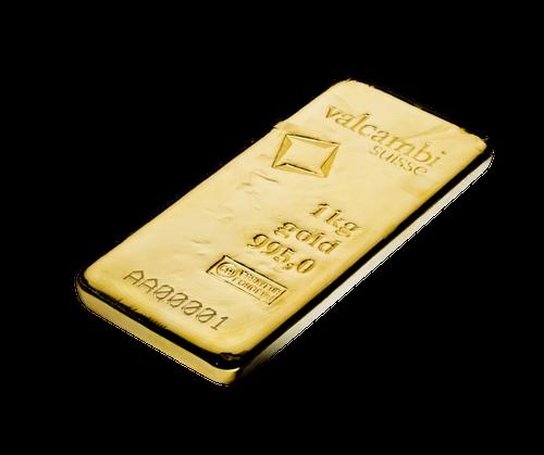 1 Kilo Gold Bar | Valcambi