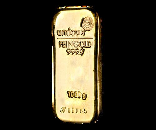 Umicore 1kg Gold Bullion Bar