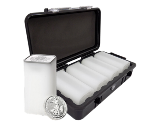 2020 UK Britannia 1oz Silver Coin - Mini Box of 100 Coins