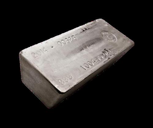 1000oz Silver Market Bar