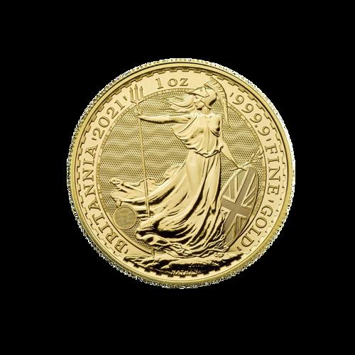 1oz Gold Britannia - 2021