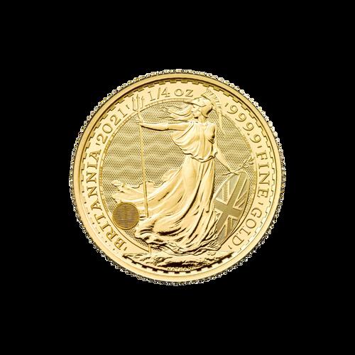 1/4oz Gold Britannia - 2021