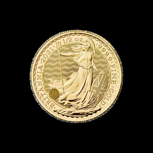 1/2oz Gold Britannia - 2021