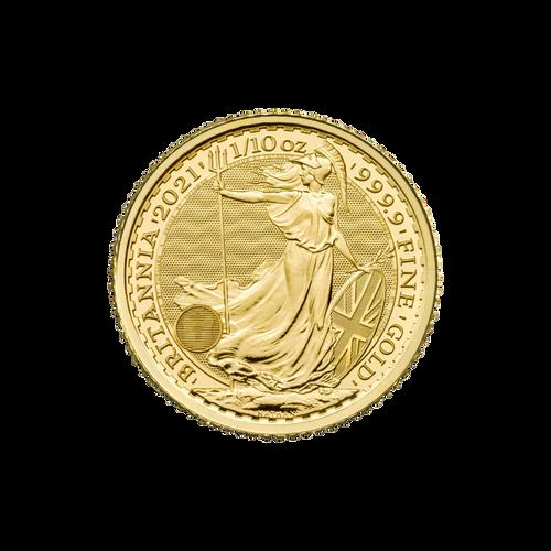 1/10oz Gold Britannia - 2021