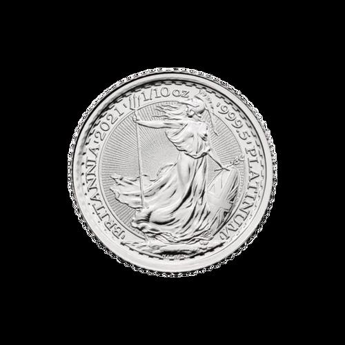 1/10oz Platinum Britannia