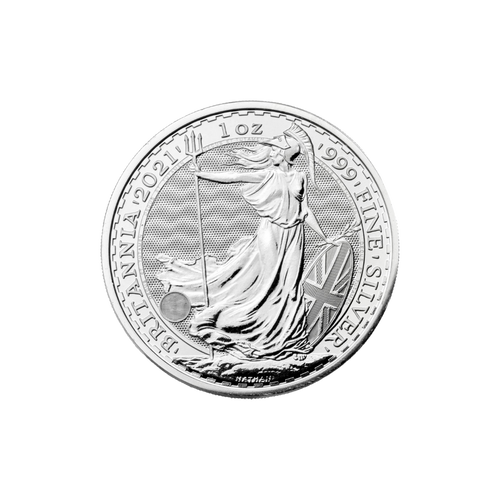 1oz Britannia Silver Coin (2021)