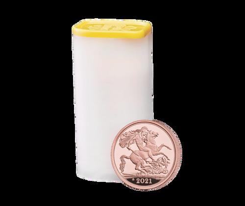 Queen Elizabeth II Gold Sovereign - 2021