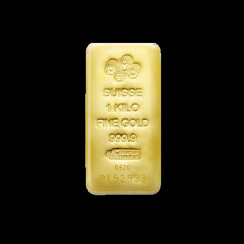 PAMP Suisse 1kg Gold Bar
