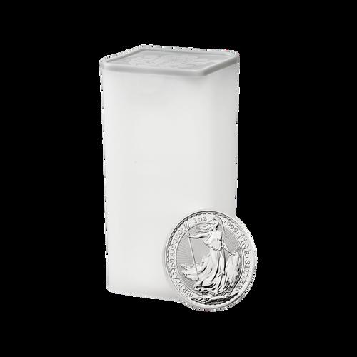 1oz Britannia Silver Coin (2016) - Tube of 25