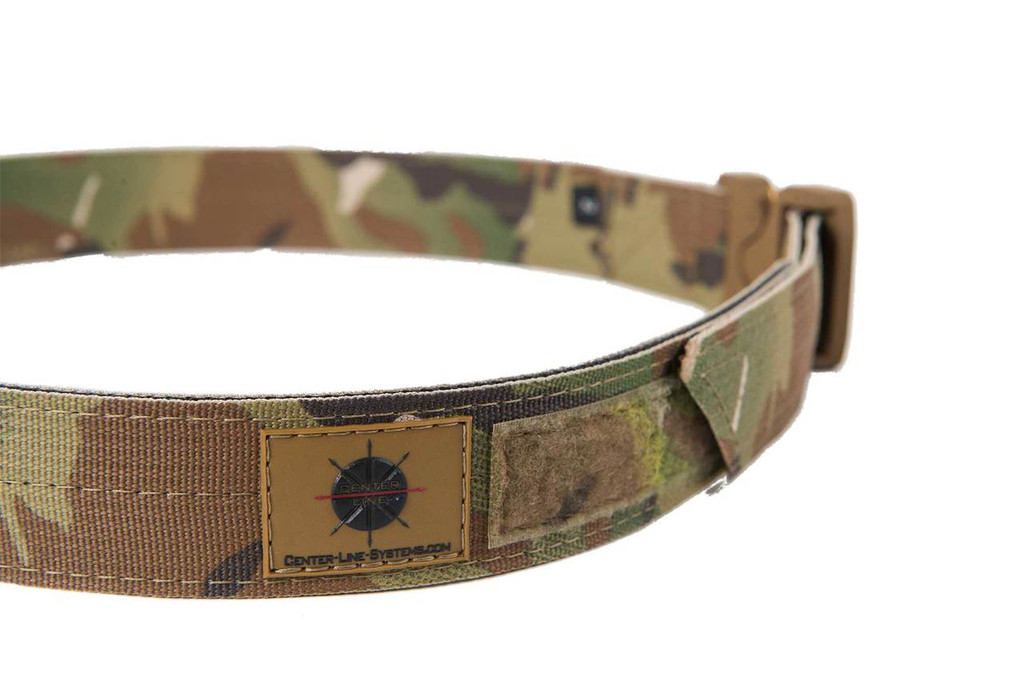 Multi-Cam EDC Belt with Multi-Cam velcro