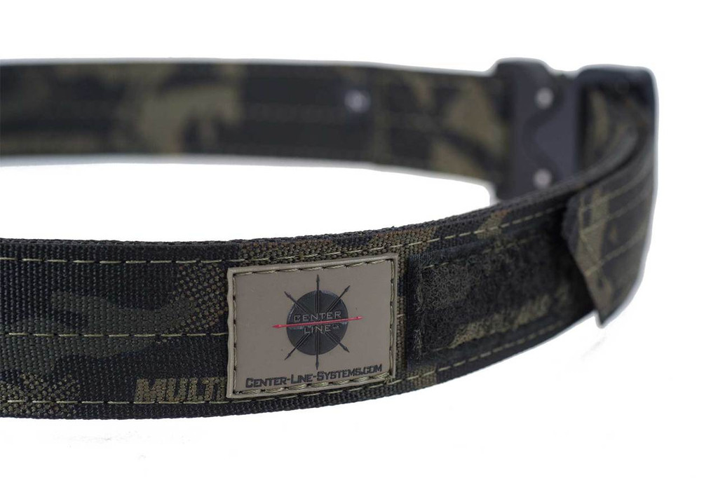 Multi-Cam Black EDC belt with Multi-Cam Black velcro