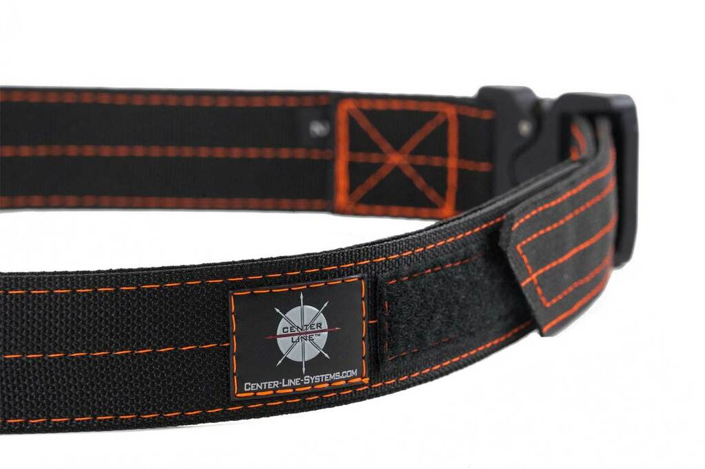 Black with Orange thread