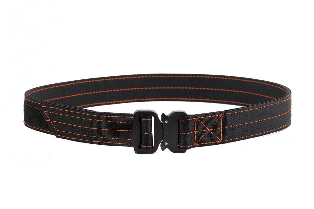Black with Orange thread