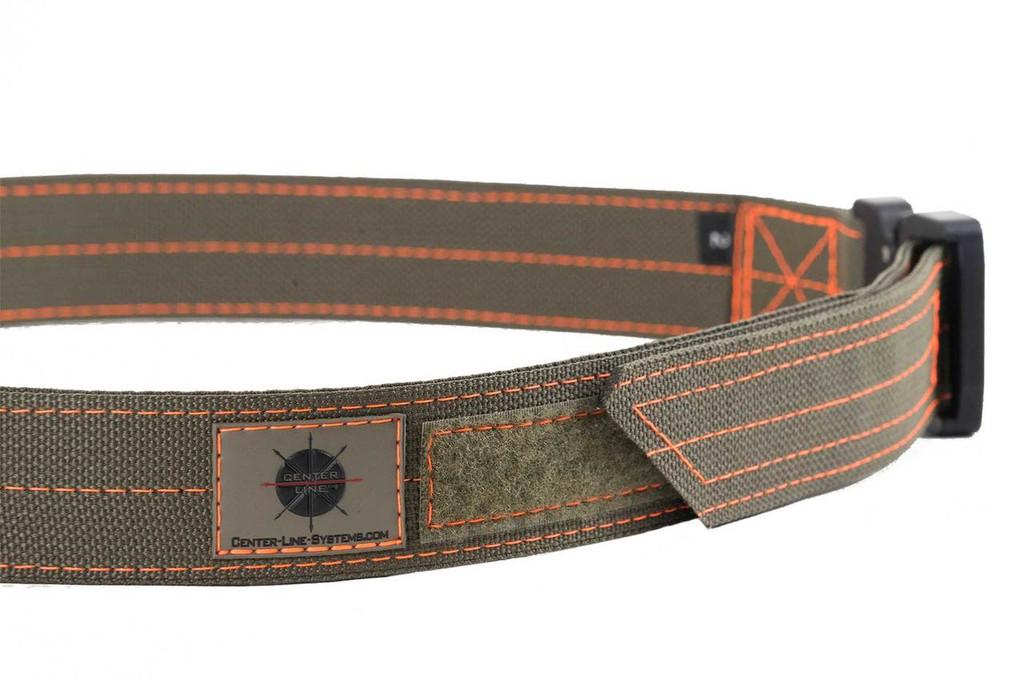 Ranger Green with Orange thread