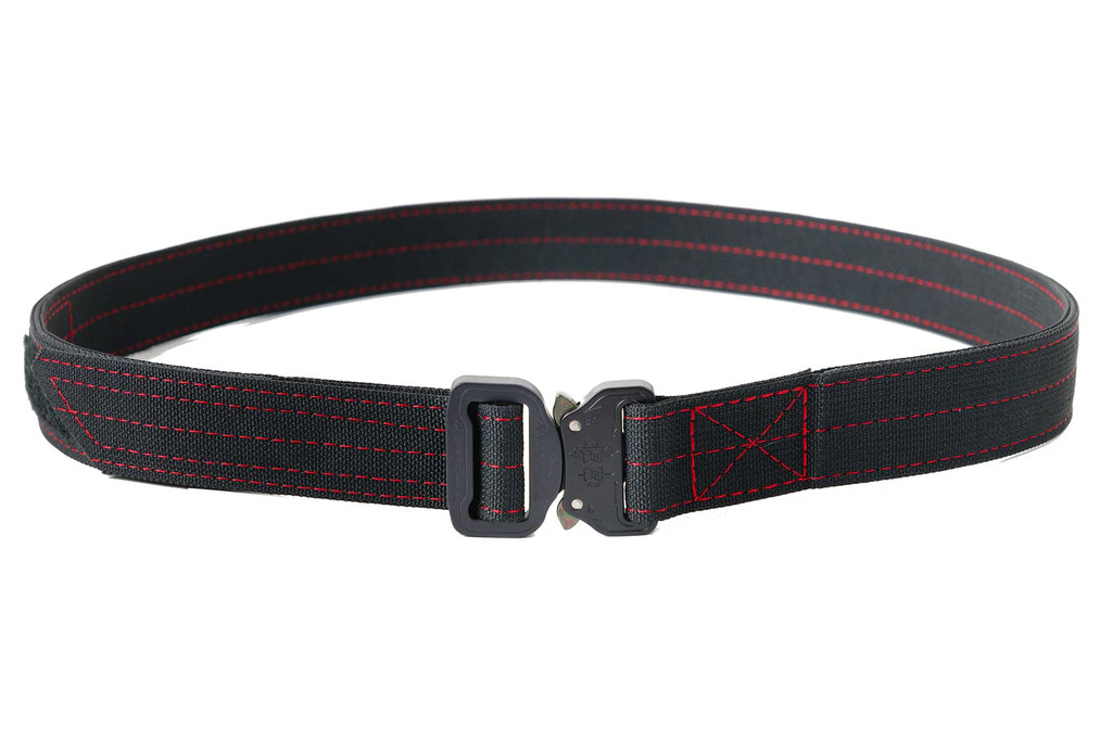Custom order with various color webbing, thread and Cobra buckles