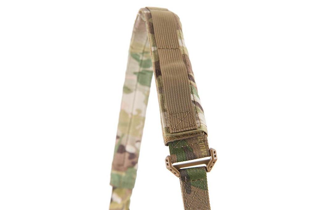Multi-Cam over a shoulder strap