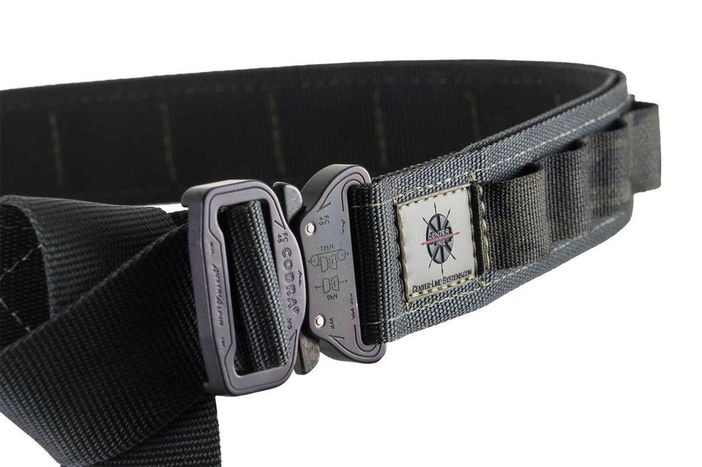 Close up on Black with Multi-Cam Black webbing