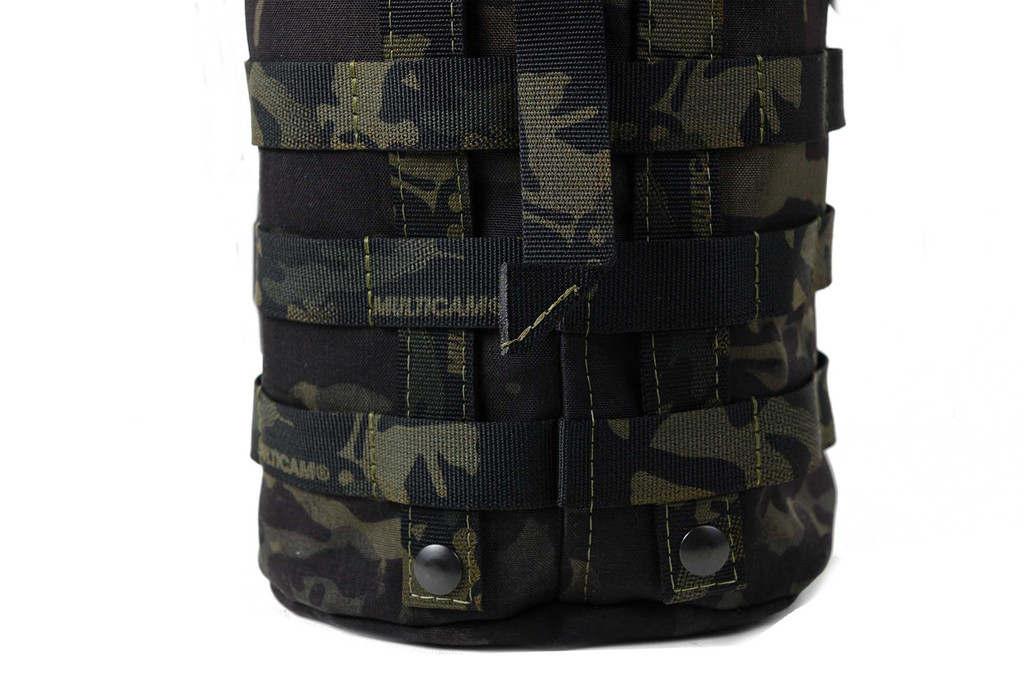 Rear MOLLE loops for attaching to other products