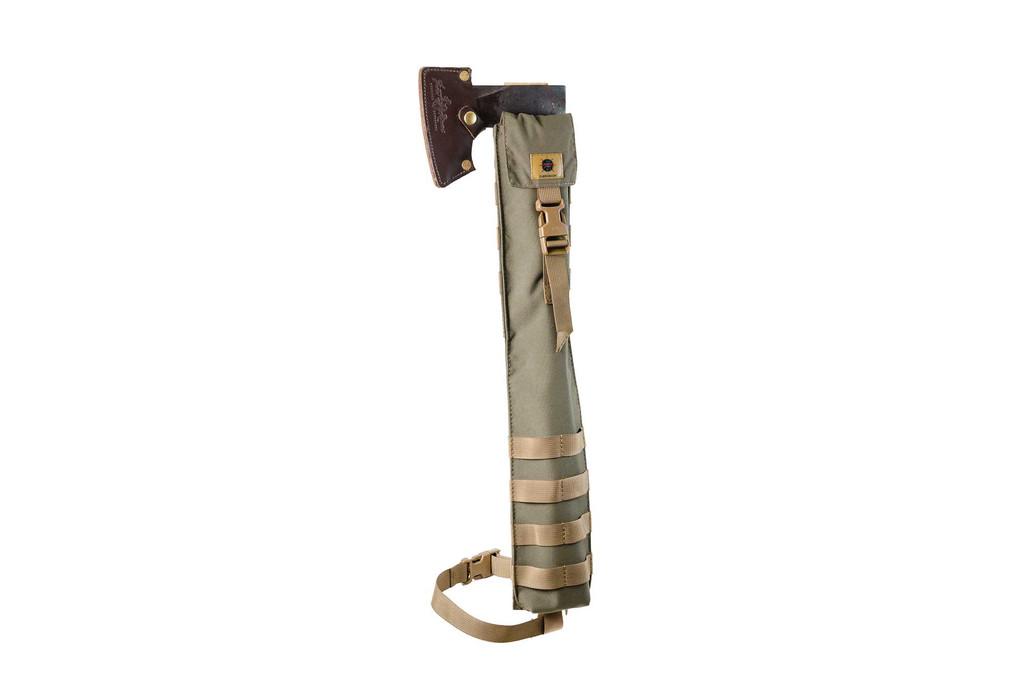 Rear axe sleeve for camp axe